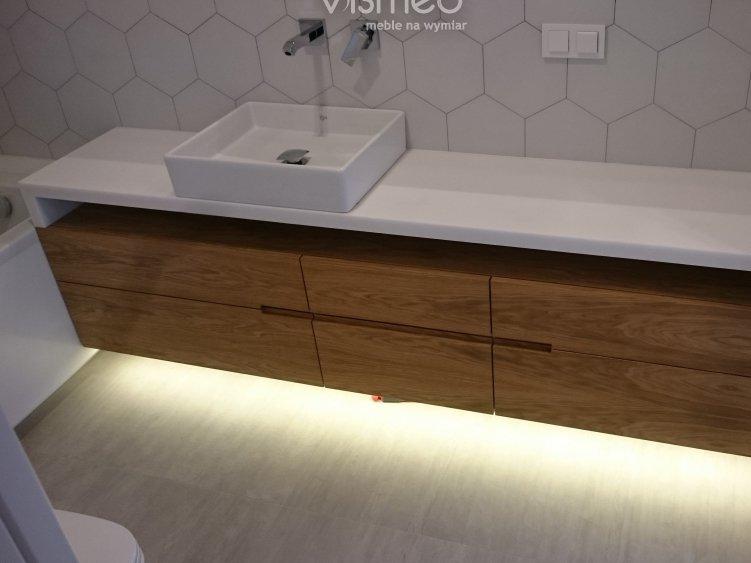 Meble łazienkowe Na Wymiar Oferta Vismeb